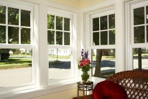 Windows installed in a property