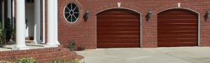 Garage doors header