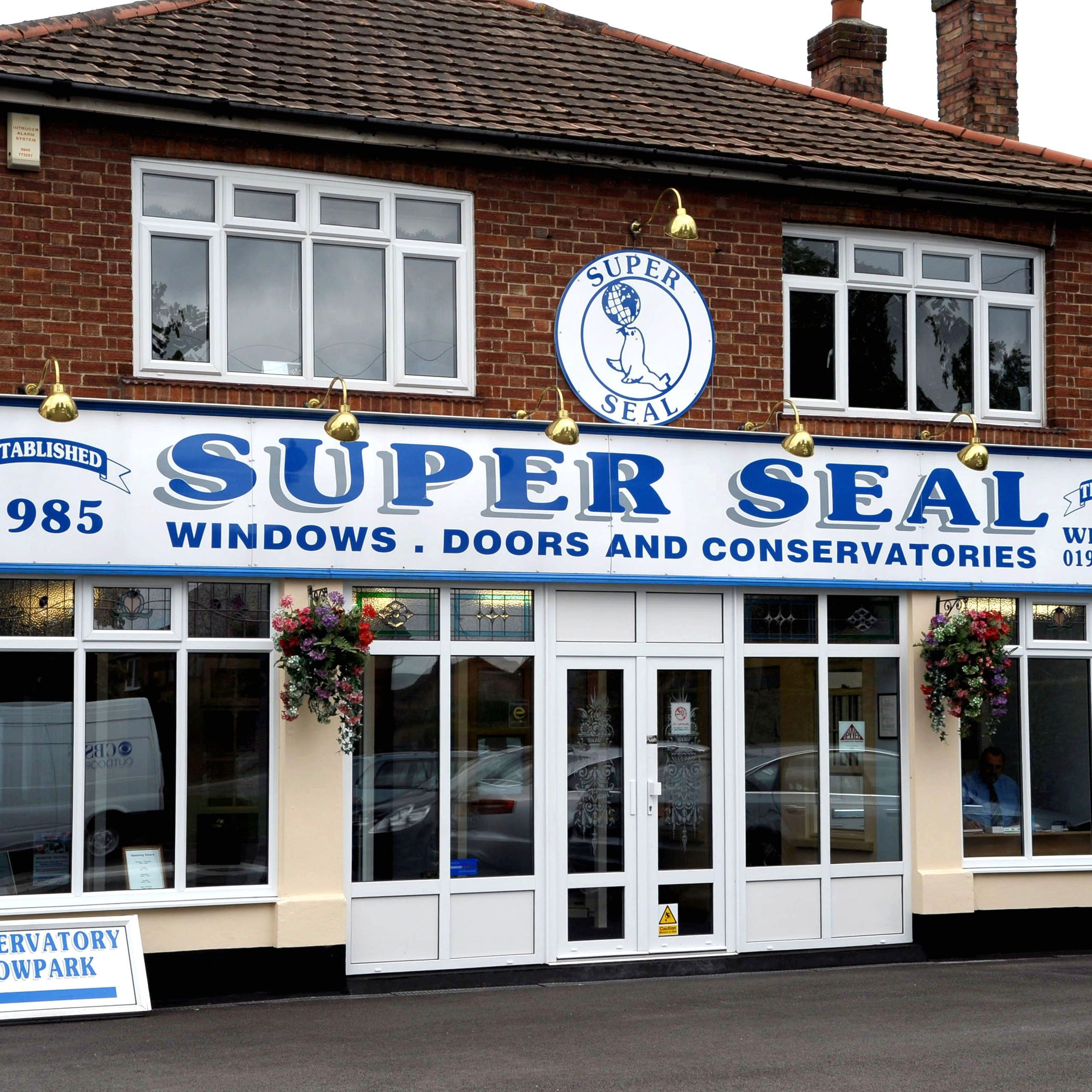 Super Seal showrooms